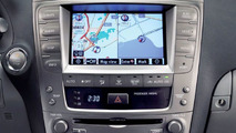 New Lexus IS Range Guided by All New Lexus Navigation System