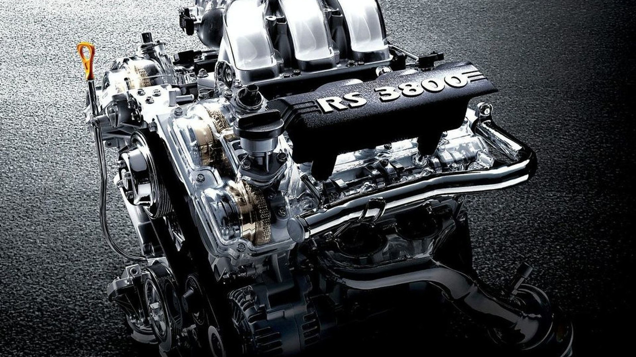 Hyundai 3.9-liter V6 Lambda RS Engine