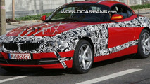 New BMW Z4 Spied with least camouflage