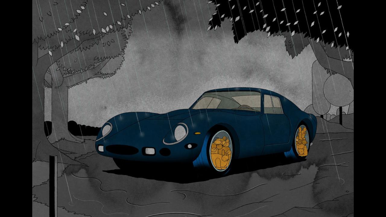 Bilancio 2011 Pirelli - Illustrazioni di Stefan Glerum