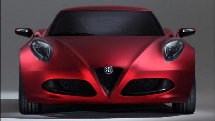 Alfa Romeo 4C: 240 CV e 2.000 esemplari all'anno