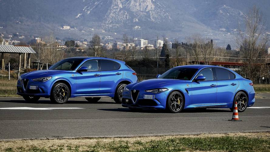 See Which Wins When The Alfa Romeo Giulia Drag Races The Stelvio