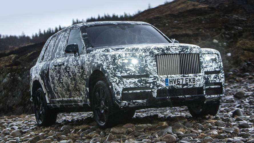 Rolls-Royce reparle du Cullinan et s'associe avec National Geographic