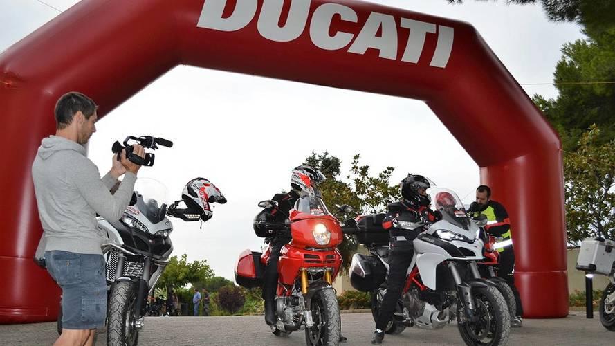Ducati España organiza una nueva edición de su rally Dos Mares