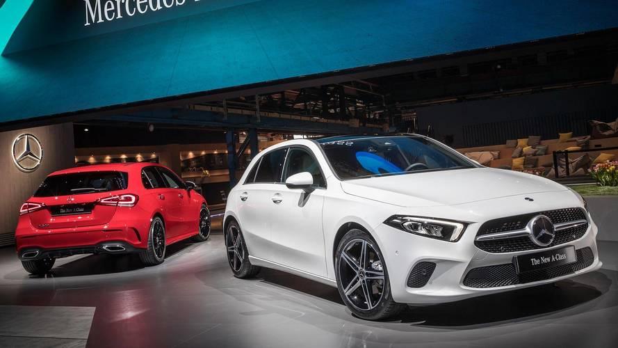 Mercedes benz reveals new a class as high tech tour de force for Mercedes benz official site usa