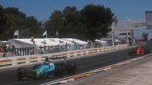 6. El Leyton House CG901 de Fórmula 1