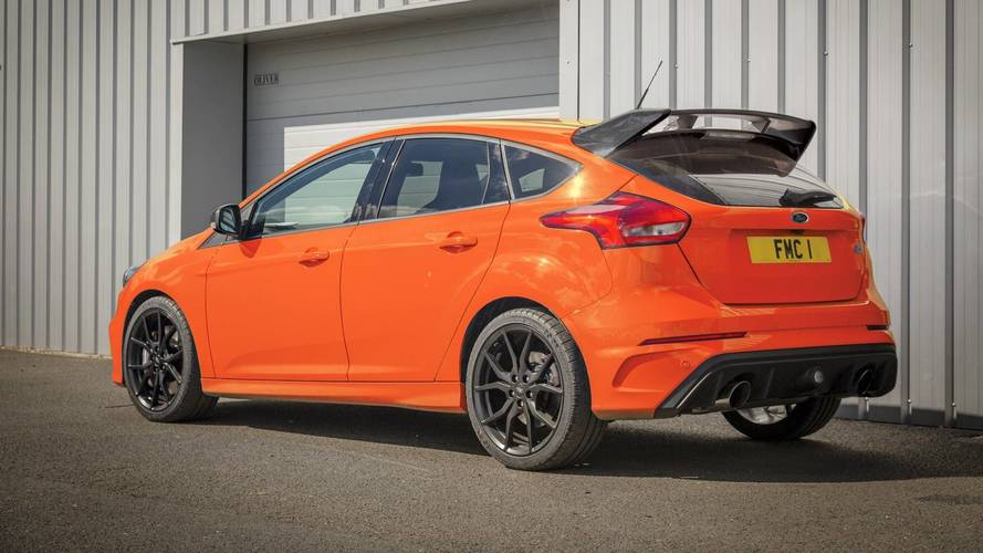 Ford Focus RS Heritage Edition - 50-unit goodbye run