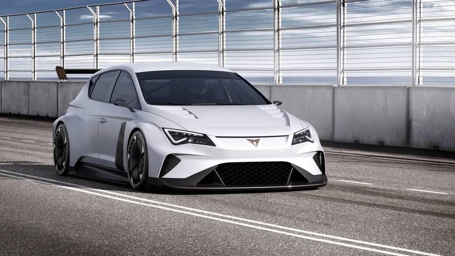 Cupra e-Racer Concept - La Leon de course électrique