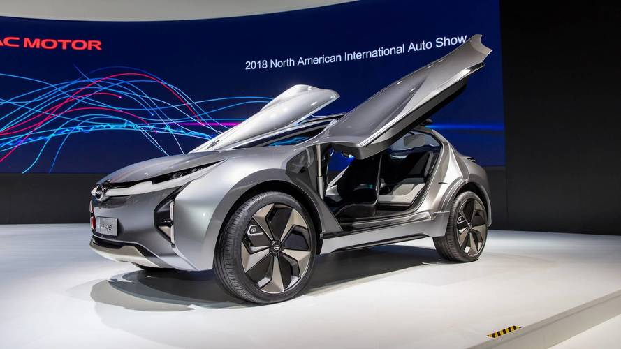 GAC Enverge Electric Concept CUV Commands Attention In Detroit