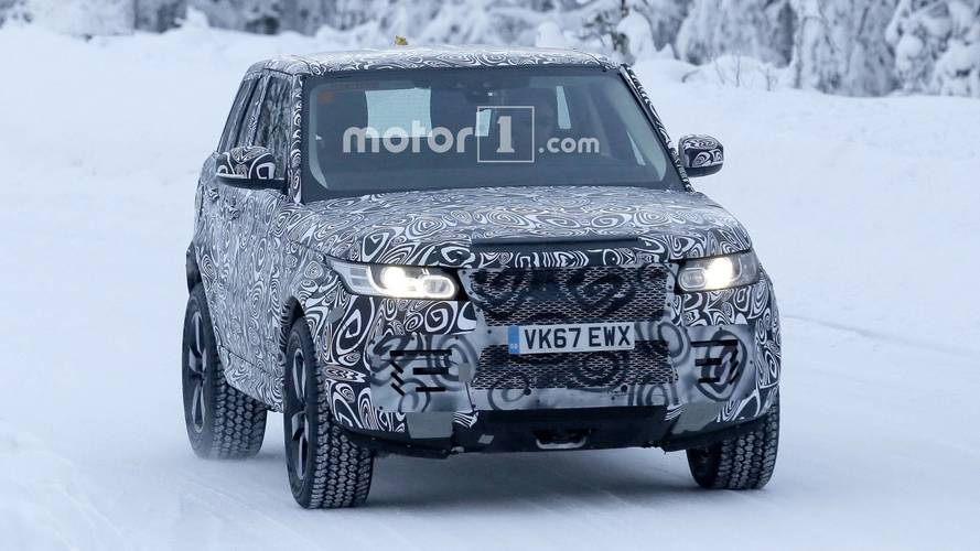 Land Rover Defender 2019 fotos espia