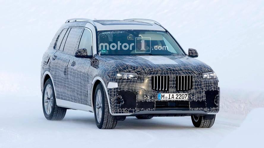Photos espion - BMW X7