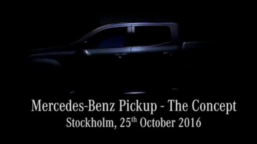 Mercedes, prime immagini del nuovo pick-up