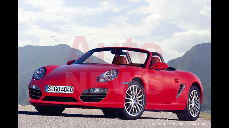 Neue Porsche-Modelle von Boxster, Cayman und 911