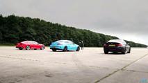 German Coupe Drag Race