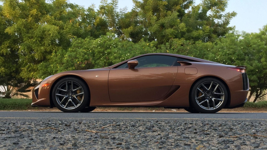 645k will buy you the only pearl brown lexus lfa in the world. Black Bedroom Furniture Sets. Home Design Ideas