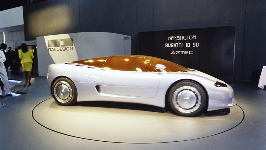 Bugatti ID 90, EB 112, EB 118, EB 218 concepts