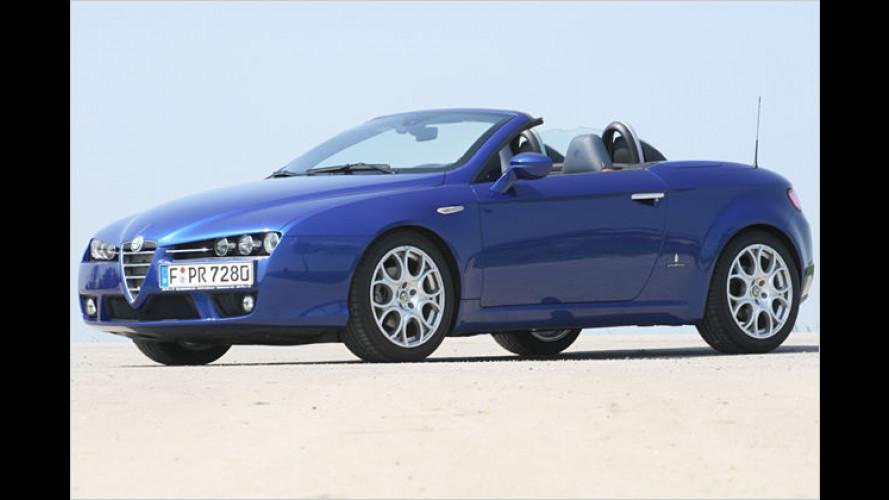 Alfa Spider 2.2 JTS: Zeigt der schöne Romeo die Muskeln?