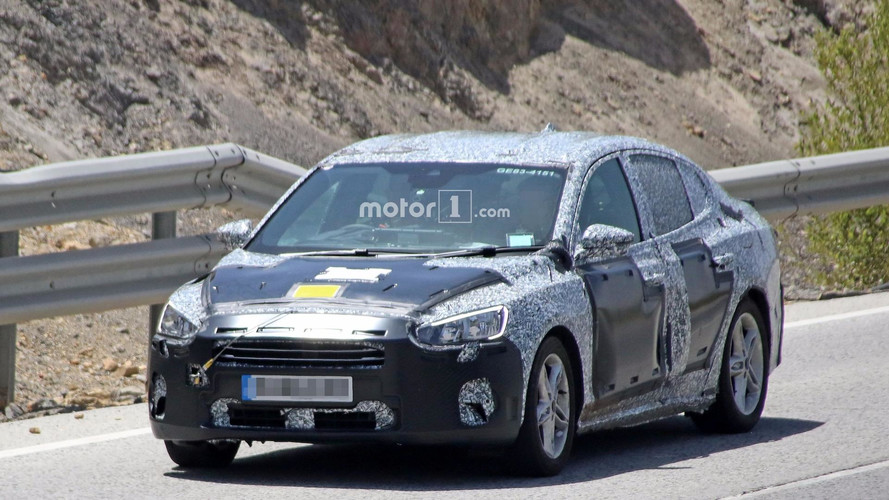 2019 Ford Focus Sedan spy photos