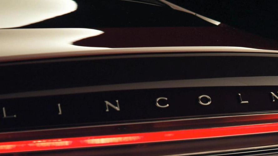 Lincoln MKZ concept gets teased on Facebook