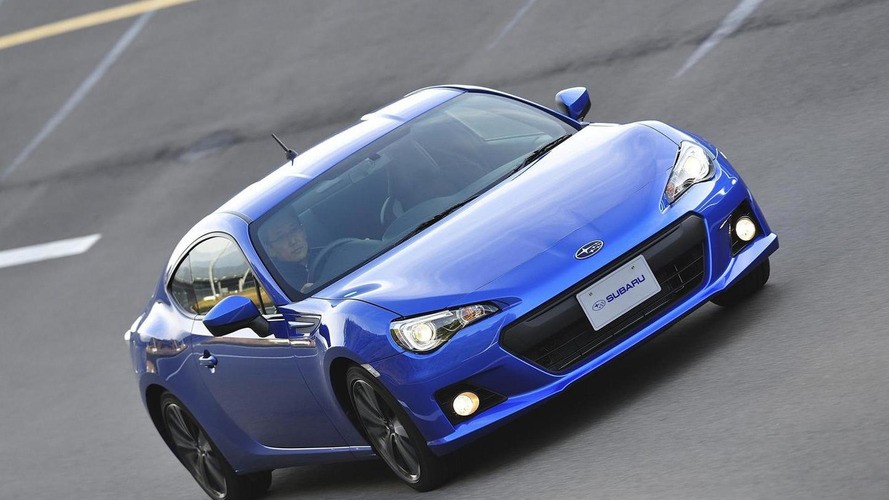 2013 Subaru BRZ does 0-60mph in 6.4 seconds