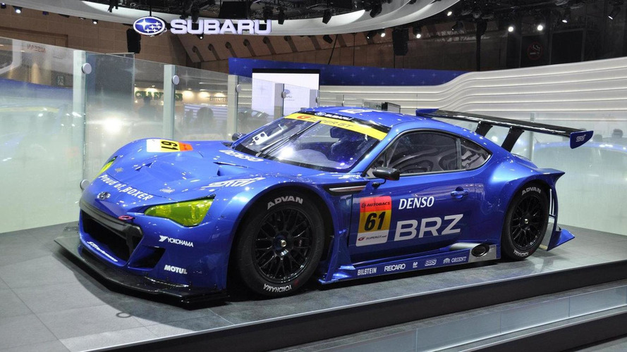 Super GT Subaru BRZ unveiled at Tokyo Motor Show