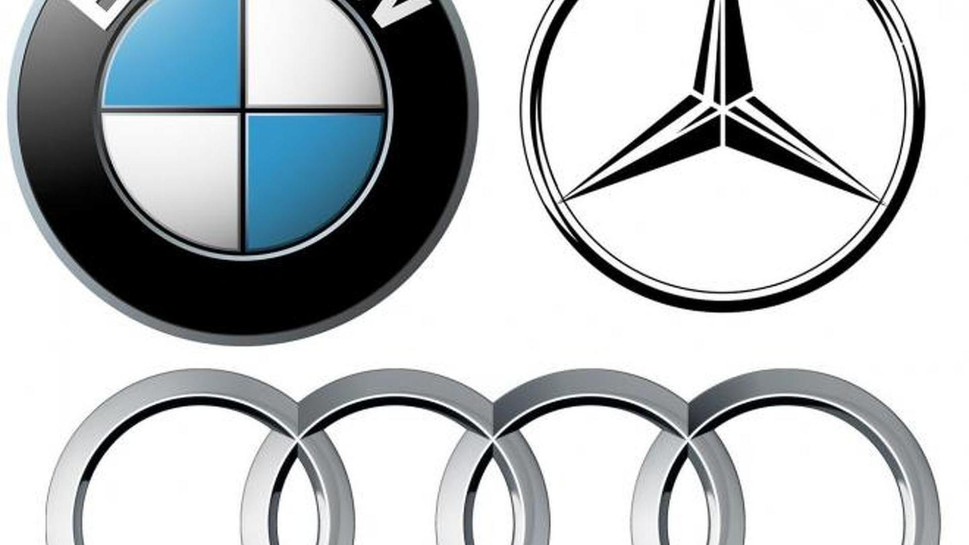 MercedesBenz Cant Keep Up With BMW And Audi In Global Luxury Car - Audi bmw benz