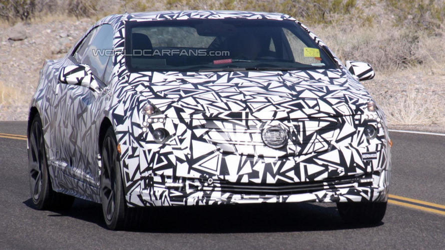 2014 Cadillac ELR spied for the first time