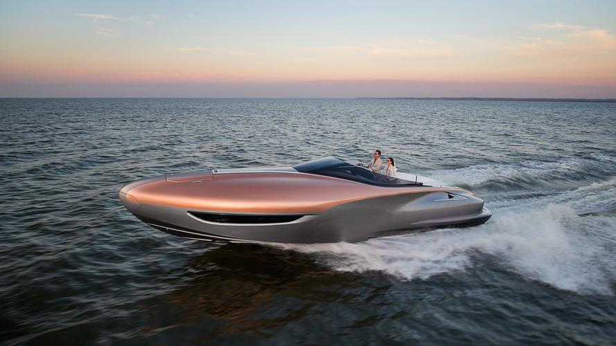 Lexus Sport Yacht Concept - Nova barca da Lexus anda na água!