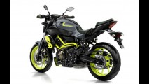 Yamaha MT-07 ganha a invocada pintura