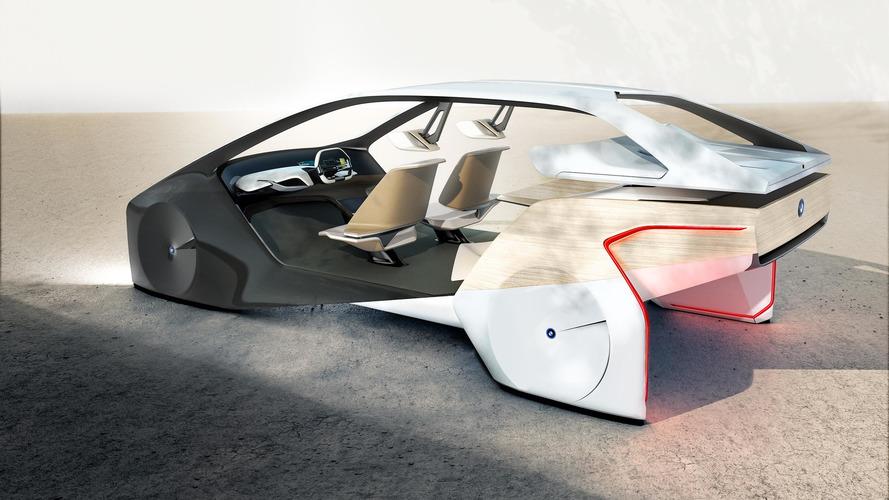 BMW i Inside Future konsepti CES'te tanıtıldı
