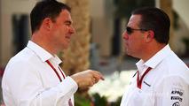 James Allen, Journalist with Zak Brown, McLaren Executive Director