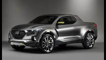 Hyundai Santa Cruz: decisão sobre produção da picape deve sair em novembro