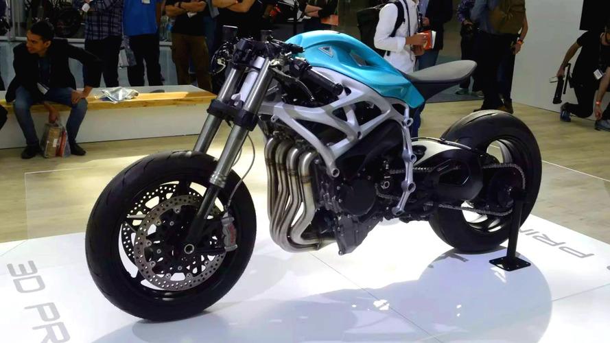 Baseada na superesportiva Kawasaki H2, Divergent Dagger é feita com impressão 3D