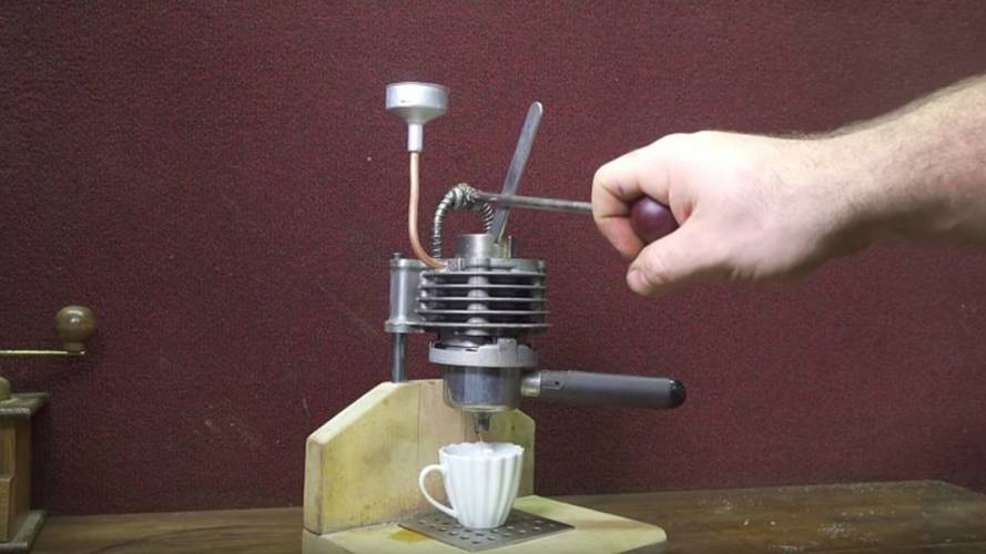 Rev Up Your Day With A DIY Piston Coffee Press