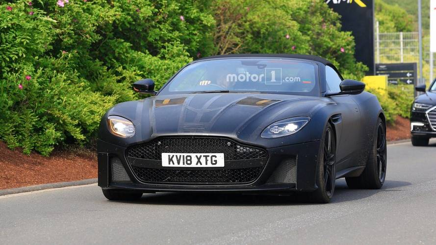 L'Aston Martin DBS Superleggera Volante est dans les starting blocks