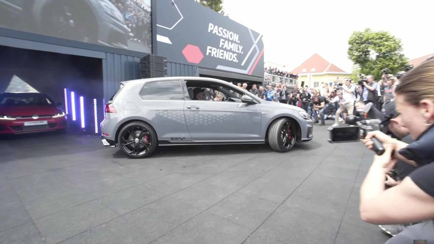 Watch The VW Golf GTI TCR Concept Debut In The Metal At Wörthersee