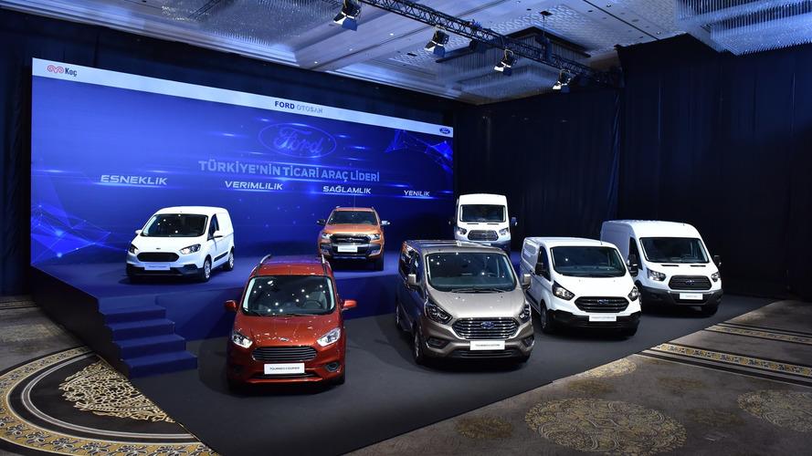 Ford'un yeni ticari modelleri tanıtıldı