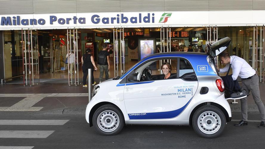 Milano è la capitale europea del car sharing