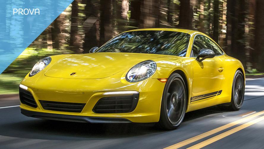 Porsche 911 Carrera T, la forza dell'equilibrio