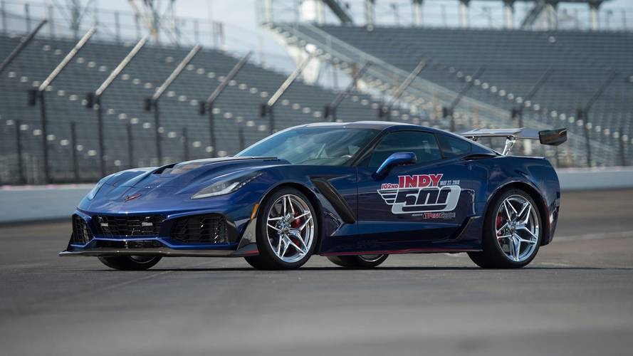 2019 Corvette ZR1 Is Indy's Most Powerful Pace Car Ever
