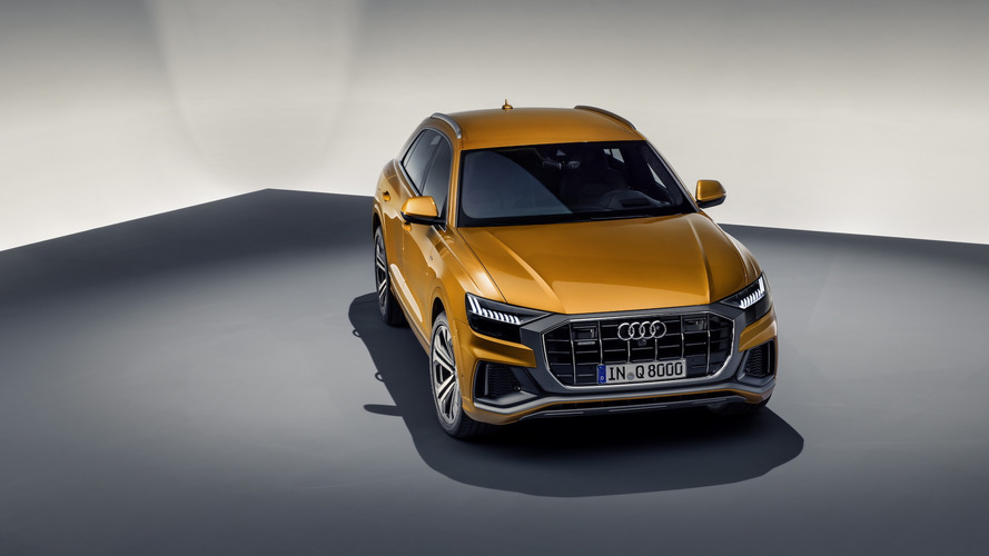 Audi has just revealed its new Q8 range-topping SUV
