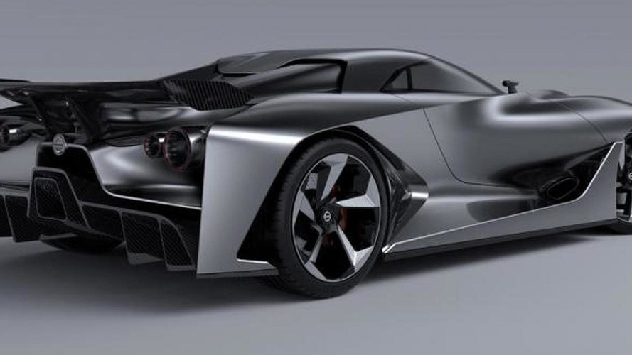 Nissan Vision Gran Turismo leaks out ahead of today's reveal