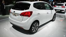 2015 Kia Venga facelift at 2014 Paris Motor Show