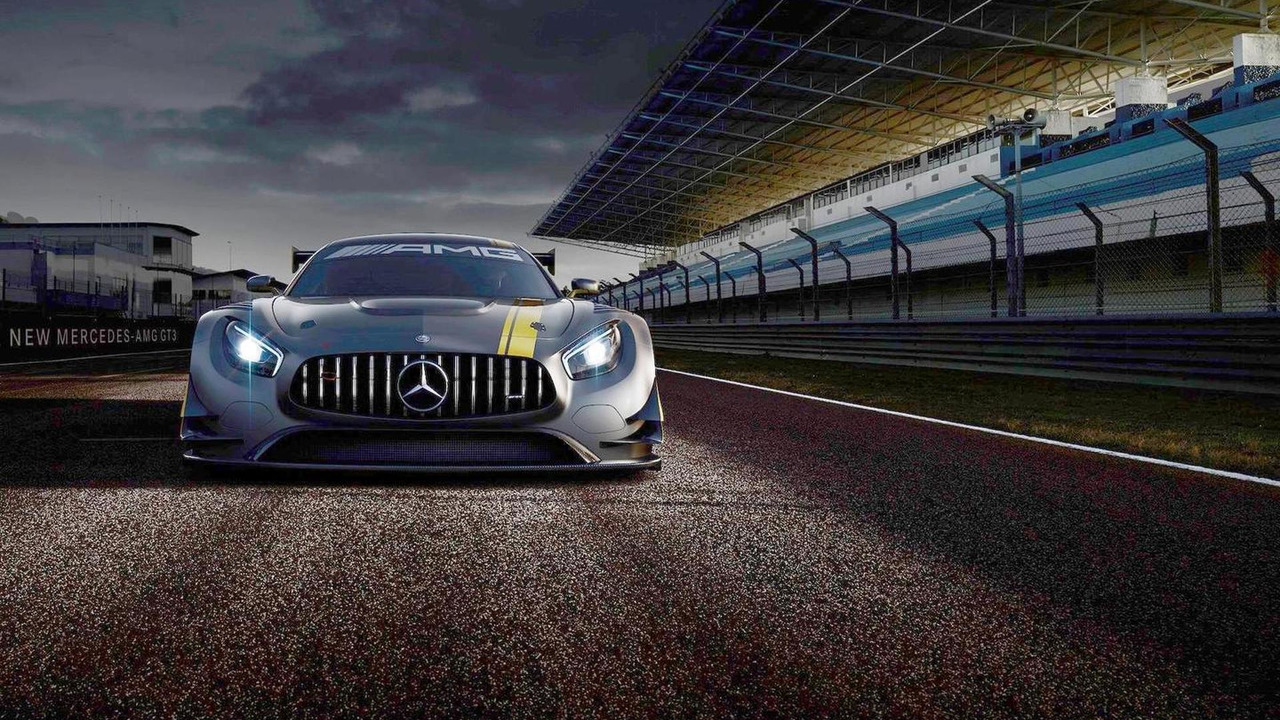 Mercedes-AMG GT3 teaser image (modified)
