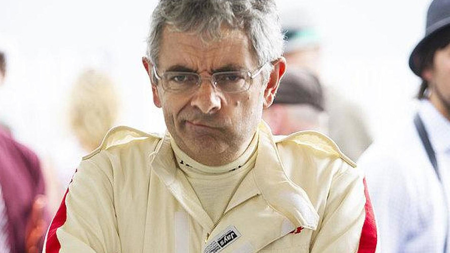 Rowan Atkinson escapes uninjured after head-on collision at Goodwood Revival