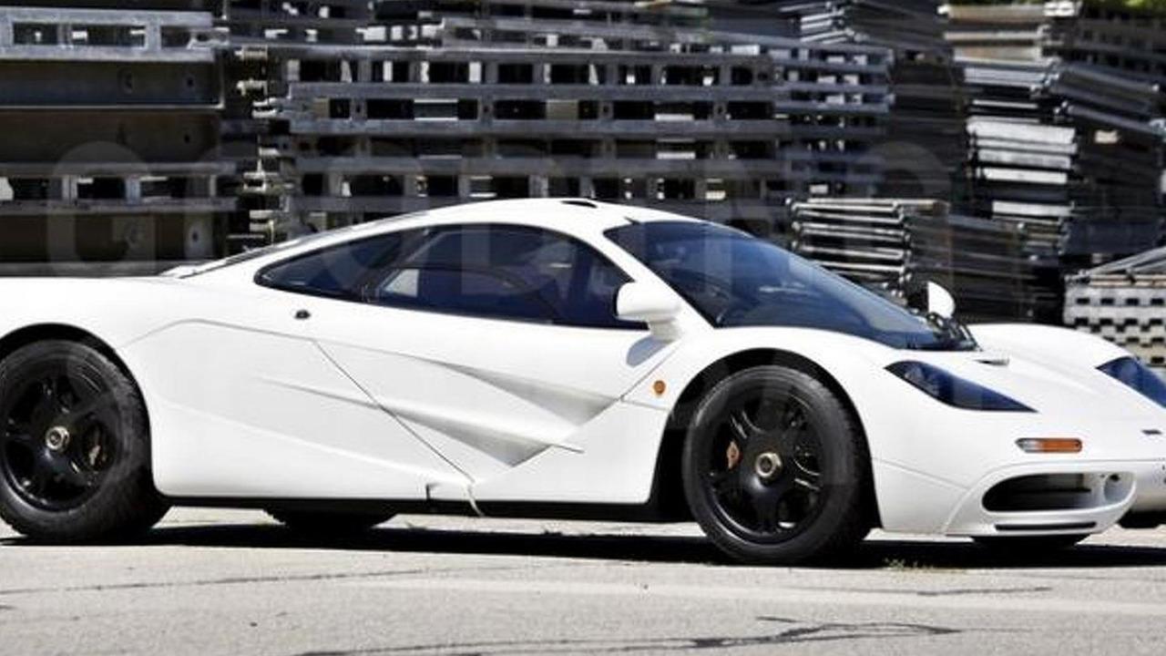 McLaren F1 with Marlboro White paint