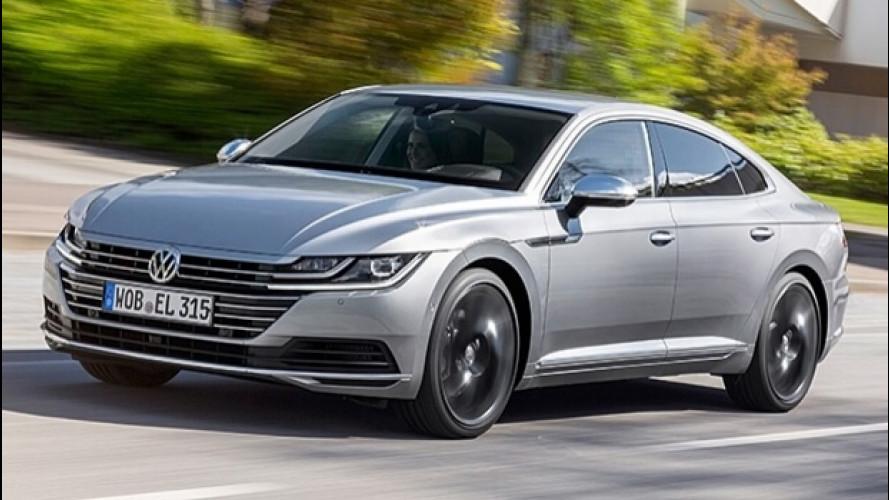 Volkswagen Arteon, la prova della berlina a tetto spiovente