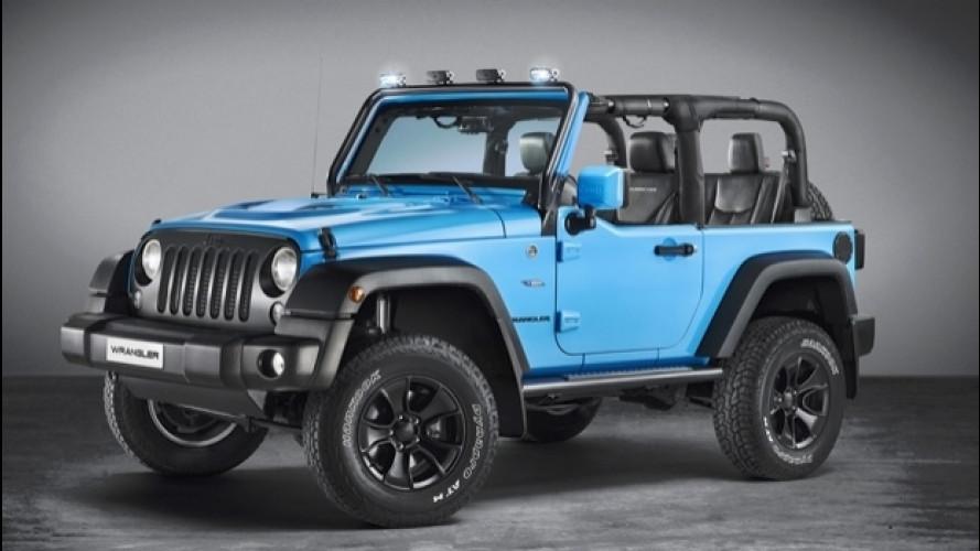 Jeep Wrangler Mopar One, 4x4 con stile