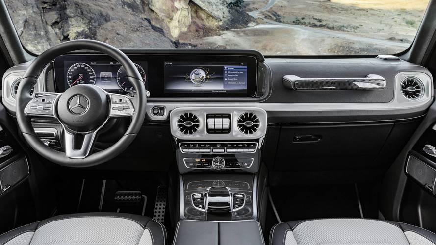 Teaser videón az új Mercedes-Benz G-osztály
