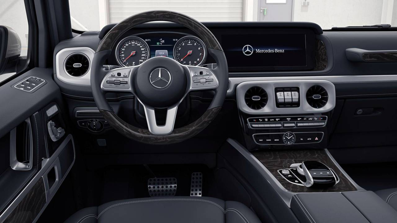 2018 Mercedes G-Class interior first look | Motor1.com Photos